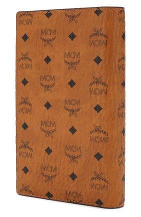 Женские обложка для паспорта MCM коричневого цвета, арт. MYV 8SVI50 | Фото 2