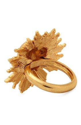 Женское кольцо OSCAR DE LA RENTA золотого цвета, арт. F19J407G0L | Фото 2