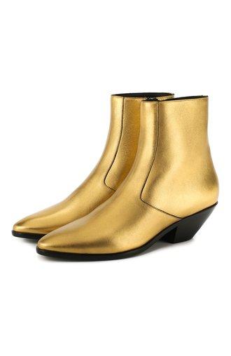 Кожаные ботинки West