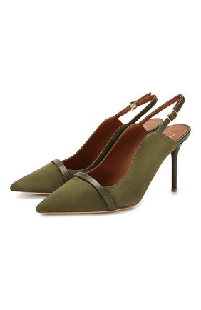 Замшевые туфли Marion | Фото №1