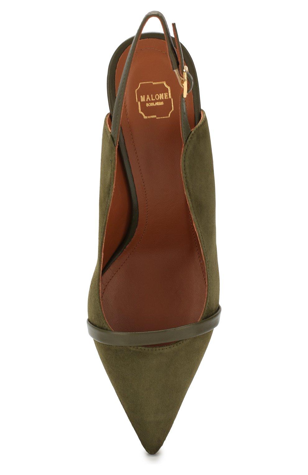Замшевые туфли Marion   Фото №5