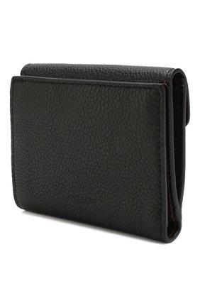 Женские кожаное портмоне COACH черного цвета, арт. 76527 | Фото 2