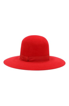 Женская фетровая шляпа DOLCE & GABBANA красного цвета, арт. FH471A/GDQ80 | Фото 1