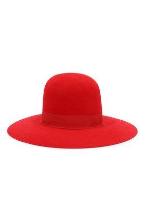 Женская фетровая шляпа DOLCE & GABBANA красного цвета, арт. FH471A/GDQ80 | Фото 2