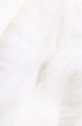 Мужские шарф из меха лисицы YVES SALOMON белого цвета, арт. 20WAA521XXW0LW | Фото 2