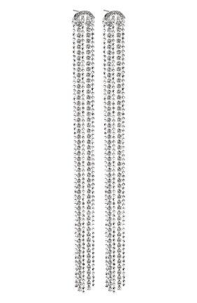 Женские серьги fit SWAROVSKI серебряного цвета, арт. 5490190   Фото 3