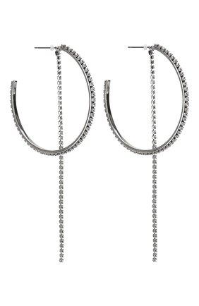 Женские серьги fit SWAROVSKI серебряного цвета, арт. 5504570   Фото 3