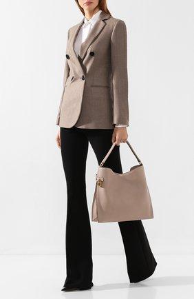 Женская сумка-тоут alix TOM FORD бежевого цвета, арт. L0810T-CD6   Фото 2