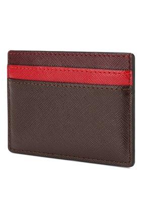 Женский кожаный футляр для кредитных карт MARC JACOBS (THE) бордового цвета, арт. M0013355 | Фото 2