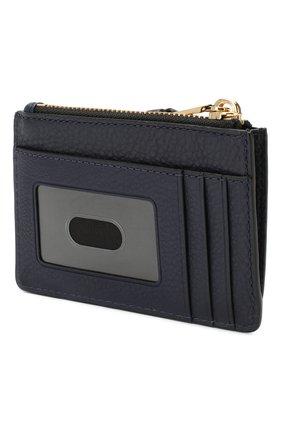 Женский кожаный футляр для кредитных карт MARC JACOBS (THE) темно-синего цвета, арт. M0015123 | Фото 2