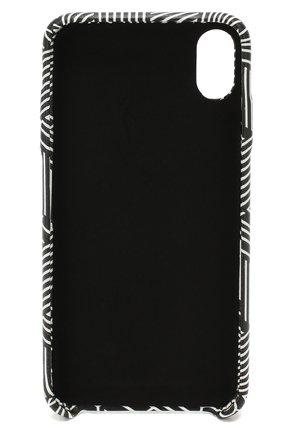 Мужской чехол для iphone xs max OFF-WHITE черно-белого цвета, арт. 0WPA010E19F160781099 | Фото 2
