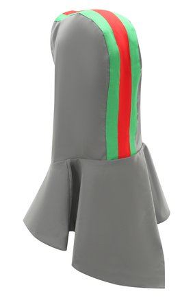 Женский капюшон GUCCI серого цвета, арт. 595703/4GA24 | Фото 2