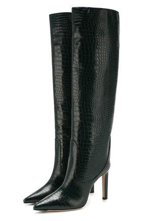 Кожаные сапоги Mavis 100 | Фото №1