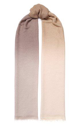 Мужские шарф FALIERO SARTI бежевого цвета, арт. I20 2080 | Фото 1