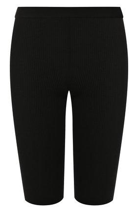 Женские шерстяные шорты MRZ черного цвета, арт. FW19-0006 | Фото 1