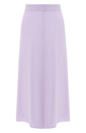 Женская юбка из смеси шерсти и кашемира JOSEPH розового цвета, арт. JF003372 | Фото 1