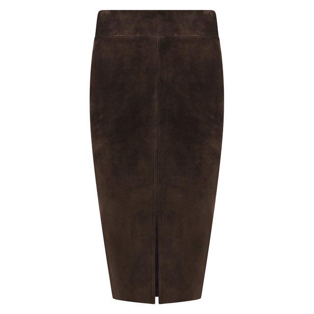 Замшевая юбка Tom Ford
