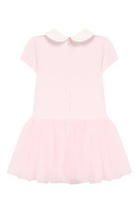 Женский платье MONNALISA розового цвета, арт. 314902SI | Фото 2