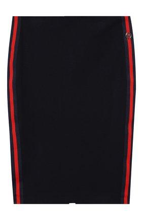 Детская юбка DAN MARALEX темно-синего цвета, арт. 204604613 | Фото 1