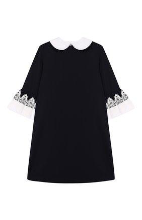 Детское платье DAN MARALEX темно-синего цвета, арт. 250464513 | Фото 1