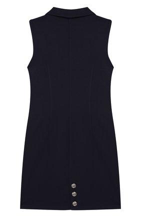 Детское платье DAN MARALEX темно-синего цвета, арт. 250014113 | Фото 2