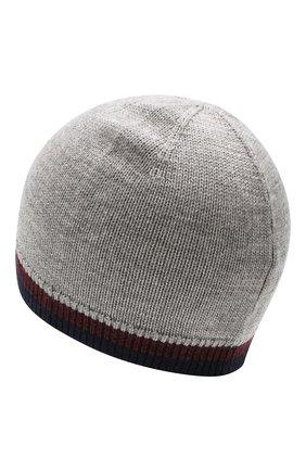 Детского шерстяная шапка POLO RALPH LAUREN серого цвета, арт. 323751649 | Фото 2