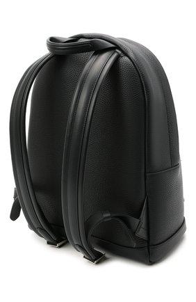Мужской кожаный рюкзак TOM FORD темно-синего цвета, арт. H0414P-LCL041 | Фото 3