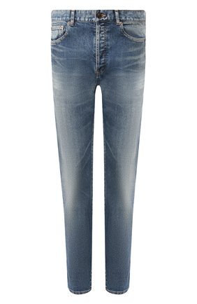 Мужские джинсы SAINT LAURENT синего цвета, арт. 584475/YA507 | Фото 1