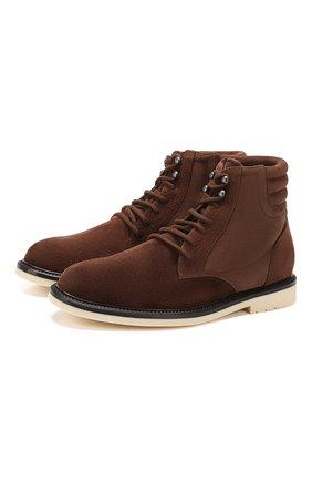 Мужские замшевые ботинки icer walk LORO PIANA коричневого цвета, арт. FAI8703 | Фото 1