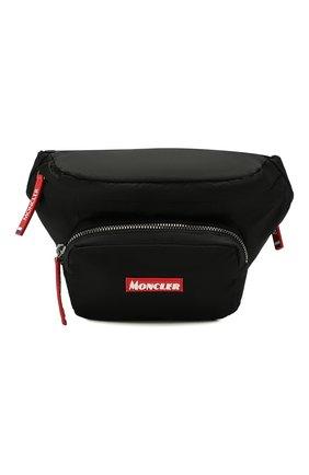Мужская текстильная поясная сумка durance MONCLER черного цвета, арт. E2-09A-00644-00-53234 | Фото 1
