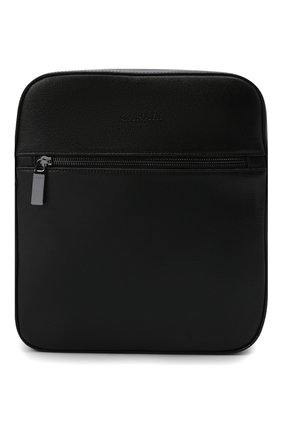Мужская кожаная сумка CANALI черного цвета, арт. P326040/NA00053 | Фото 1