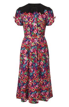Женское платье с принтом MARC JACOBS (THE) разноцветного цвета, арт. M4007904 | Фото 1