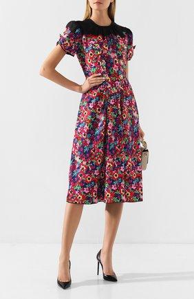 Женское платье с принтом MARC JACOBS (THE) разноцветного цвета, арт. M4007904 | Фото 2