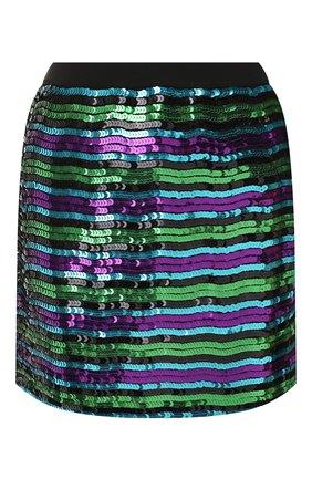 Женская юбка с пайетками MARC JACOBS (THE) фиолетового цвета, арт. M4008120 | Фото 1