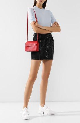 Женская сумка title BURBERRY красного цвета, арт. 8016055   Фото 2