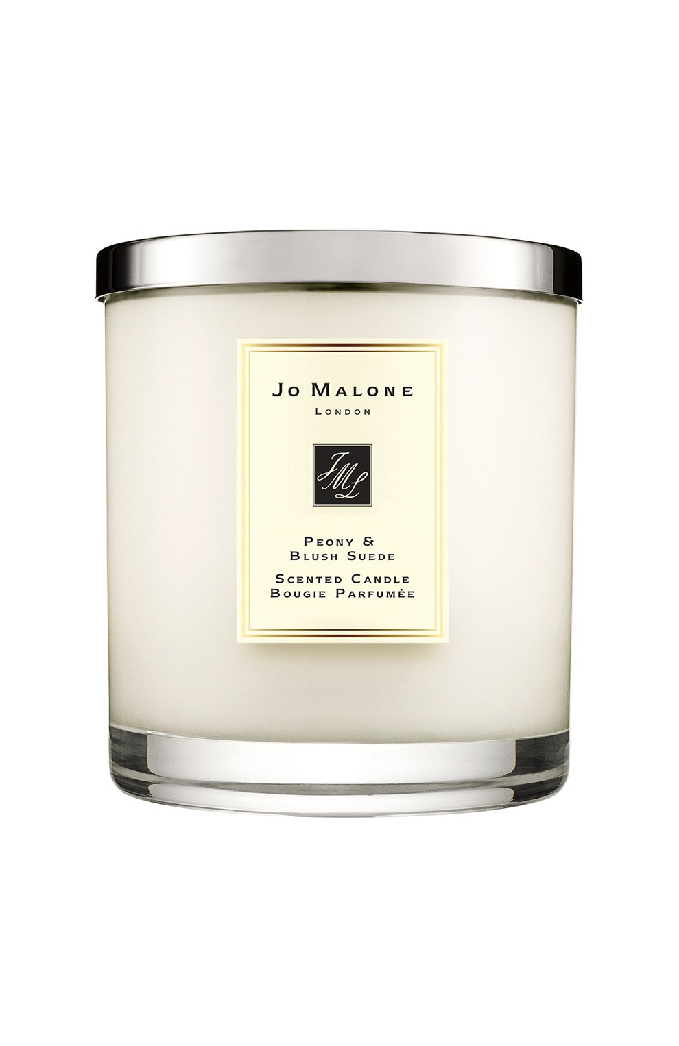 Мужская свеча ароматная peony & blush suede JO MALONE LONDON бесцветного цвета, арт. L6AL-01 | Фото 1