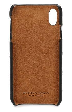Мужской чехол для iphone xs max BOTTEGA VENETA черного цвета, арт. 577750/V00BL | Фото 2