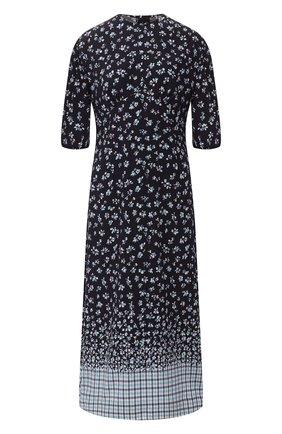 Женское шелковое платье POUSTOVIT разноцветного цвета, арт. w20P-5301 | Фото 1