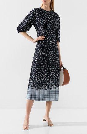 Женское шелковое платье POUSTOVIT разноцветного цвета, арт. w20P-5301 | Фото 2