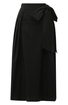 Женская юбка-миди ALEXANDER TEREKHOV черного цвета, арт. SK336/1601.900/W20 | Фото 1