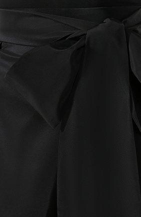 Женская юбка-миди ALEXANDER TEREKHOV черного цвета, арт. SK336/1601.900/W20 | Фото 5
