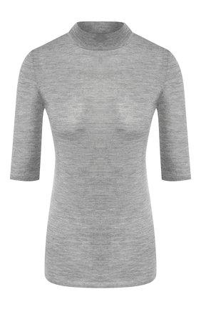 Женская топ из смеси кашемира и шелка GABRIELA HEARST серого цвета, арт. 419905 A003 | Фото 1