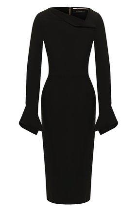 Женское платье ROLAND MOURET черного цвета, арт. PW19/S0647/F2196   Фото 1