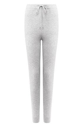 Женские кашемировые брюки-скинни LE KASHA светло-серого цвета, арт. KENYA00 | Фото 1