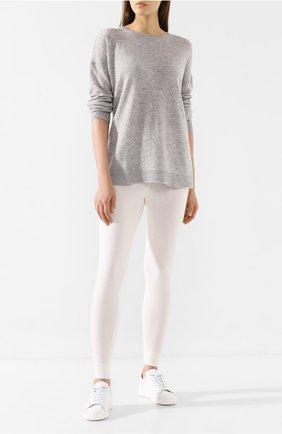 Женский кашемировый свитер LE KASHA светло-серого цвета, арт. CRETE00 | Фото 2