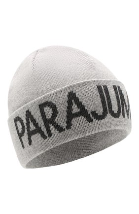 Мужская шерстяная шапка PARAJUMPERS серого цвета, арт. HA16/PARAJUMPERS HAT | Фото 1