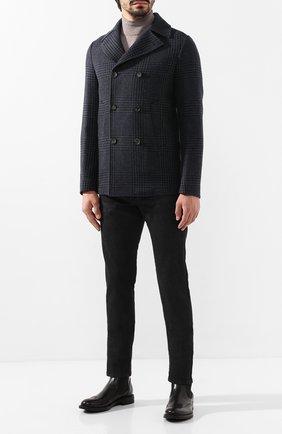 Мужские кожаные челси W.GIBBS черного цвета, арт. 3169014/0214 | Фото 2