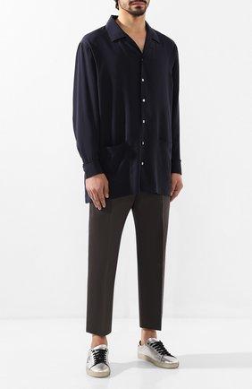 Мужской брюки JIL SANDER серого цвета, арт. JSMP310231-MP451000 | Фото 2