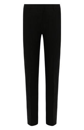 Мужской шерстяные брюки BOTTEGA VENETA черного цвета, арт. 564862/VA8P1 | Фото 1