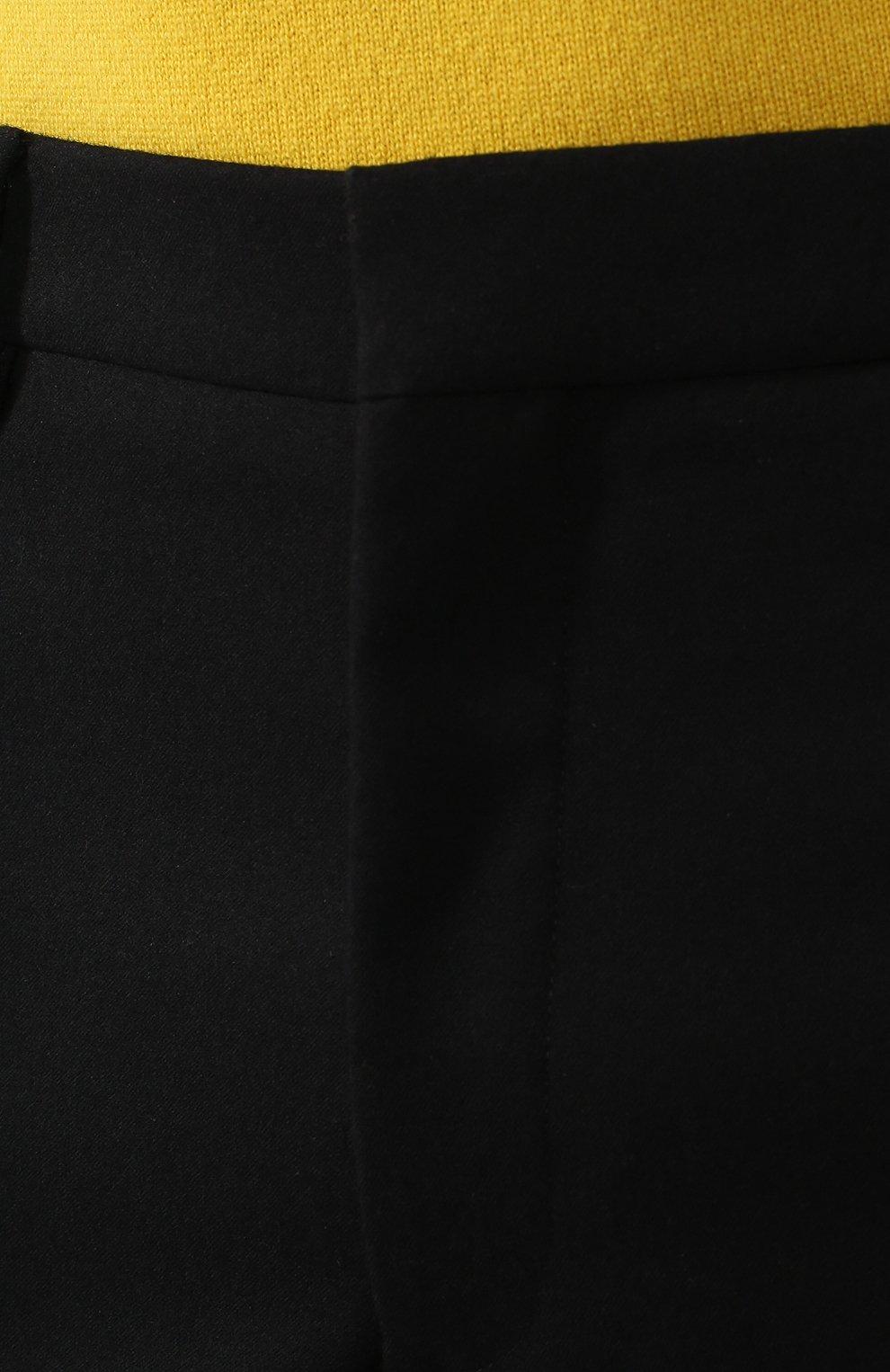 Мужские шерстяные брюки BOTTEGA VENETA черного цвета, арт. 564862/VA8P1 | Фото 5